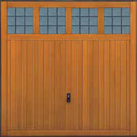 Hormann Series 2000 timber up and over garage doors Style 2019 Garage Light