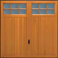 Hormann Series 2000 timber up and over garage doors Style 2119 Leicester