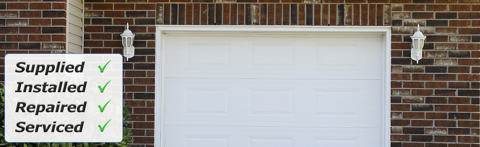 Garage doors supplied, installed, repaired and serviced